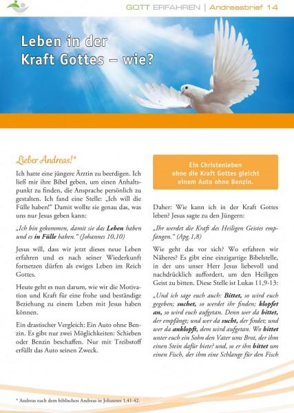 14. Leben in der Kraft Gottes - Wie?