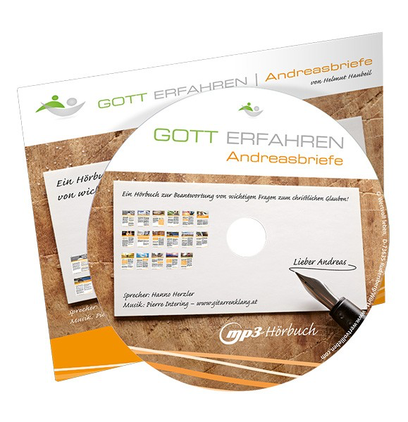 Gott Erfahren Andreasbriefe Hörbücher - mp3-CD