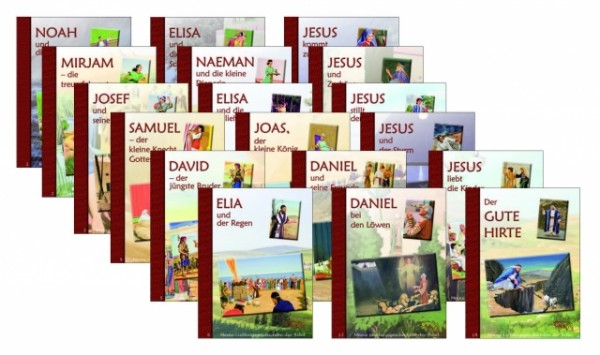 Meine Lieblingsgeschichten der Bibel - Buchpaket